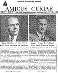 Amicus Curiae, March 12, 1952