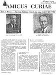 Amicus Curiae, April 25, 1952