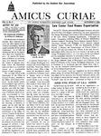 Amicus Curiae, December 9, 1953