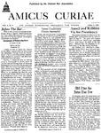Amicus Curiae, April 9, 1954