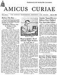 Amicus Curiae, May 20, 1954