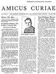 Amicus Curiae, December 14, 1954