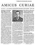 Amicus Curiae, April 5, 1955
