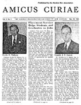 Amicus Curiae, November 29, 1955