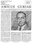 Amicus Curiae, May 17, 1956
