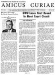 Amicus Curiae, November 25, 1957