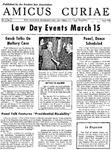 Amicus Curiae, March, 1958