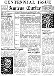 Amicus Curiae, October 11, 1965