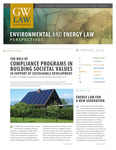 Environmental and Energy Law Perspectives: Spring 2012