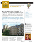 International & Comparative Law Perspectives: Fall 2009 by Int'l & Comp. Law Program