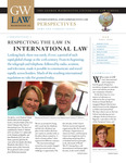 International & Comparative Law Perspectives: Fall 2008