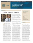 International & Comparative Law Perspectives: Fall 2013