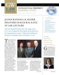 Intellectual Property Perspectives: Spring 2009 by IP Law Program