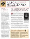 A Legal Miscellanea: Volume 1, Number 2