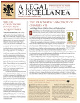A Legal Miscellanea: Volume 2, Number 2 by Jacob Burns Law Library George Washington University Law School