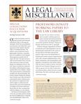 A Legal Miscellanea: Volume 3, Number 2
