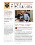 A Legal Miscellanea: Volume 4, Number 1 by Jacob Burns Law Library George Washington University Law School