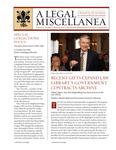 A Legal Miscellanea: Volume 4, Number 2