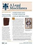 A Legal Miscellanea: Volume 10, Number 1