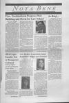 Nota Bene, February 16, 1998