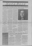Nota Bene, August 31, 1998