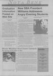 Nota Bene, March 22, 1999