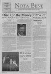 Nota Bene, September 14, 1999