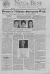 Nota Bene, October 19, 1999