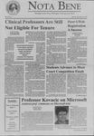 Nota Bene, November 22, 1999