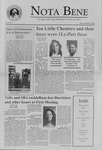 Nota Bene, September 8, 2000