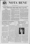 Nota Bene, February 19, 2002