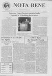 Nota Bene, March 26, 2002