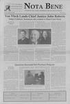 Nota Bene, October 25, 2005