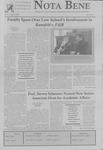 Nota Bene, March 28, 2006