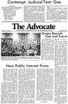 The Advocate, October 12, 1970