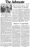 The Advocate, March 29, 1971