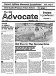 The Advocate, September 11, 1981