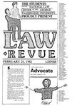 The Advocate, February 21, 1982