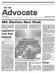 The Advocate, September 23, 1983