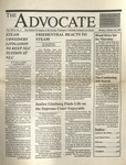 The Advocate, October 10, 1994