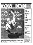 The Advocate, September 5, 1995